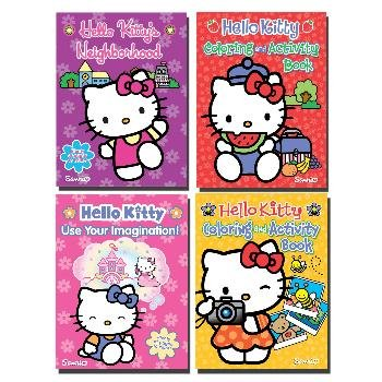 Wholesale HELLO KITTY JUMBO Coloring and Activity Book