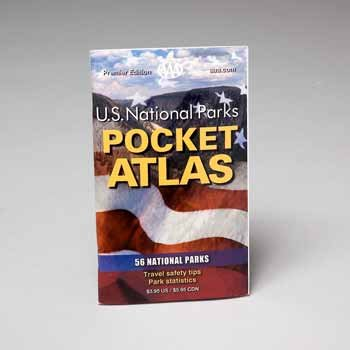 Wholesale National Park Pocket Atlas