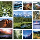 National Parks North America Calendar with Bonus