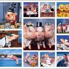 Pigs on Parade Calendar with Bonus