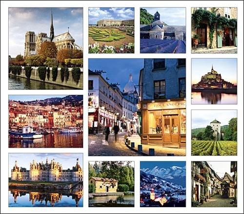 France Calendar with Bonus