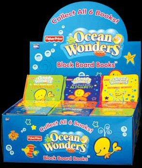 FISHER-PRICE Ocean Wonders Block Board Books