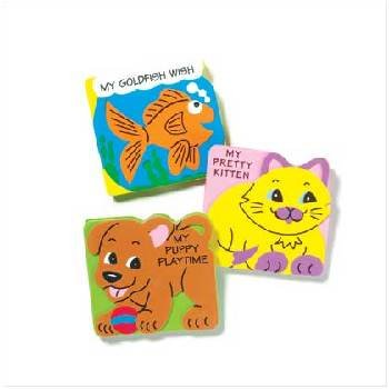 Animal Foam Board Books