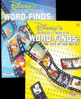 DISNEY'S Wonderful World of Word-Finds Book
