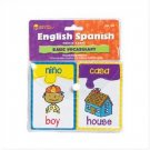 English/Spanish Vocabulary Puzzle Card