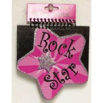 Rock Star Die Cut Journal