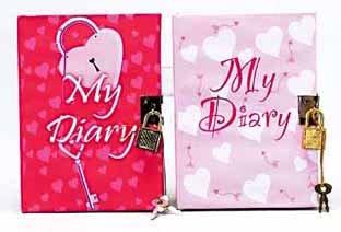 3 Assorted Diary Top Secret