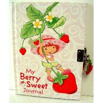 Strawberry Shortcake Journal w ith Lock and Key