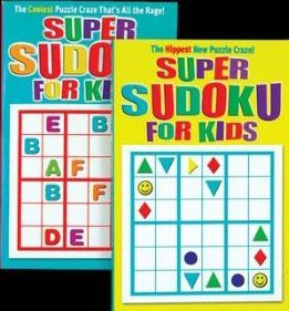 Jumbo 192 Pg. Super Sudoku For Kids Puzzles Book