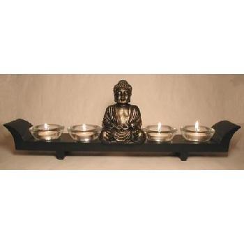 Buddha 4 Candle Holder