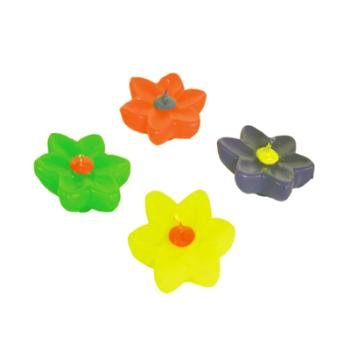 Wholesale Neon Floating Flower Candles