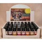 Wholesale 48-Piece Fragrance Oil Displays HOT SELLER