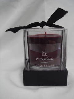 Wholesale Red Pomegranate Scented Candle
