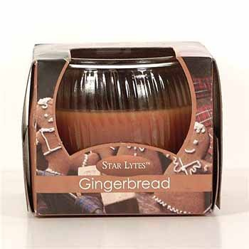 NEW! Wholesale Christmas Star Lyte Candle (Glade) - Gingerbread