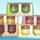 Wholesale 2 pack Scented Glass Candles