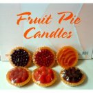 Wholesale Fruit Pie Candles
