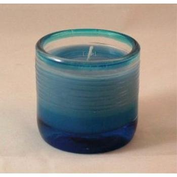 Wholesale Water Lily Scented Candle in Spun Glass