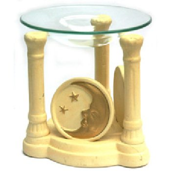 Wholesale Polyresin Moon and Stars Design Oil Burner