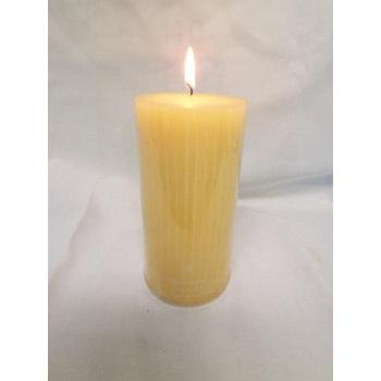 Wholesale 3x6 Pillar Sunflower Scented Candle