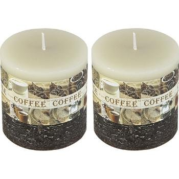 Wholesale Coffee Scented Pillar Candle