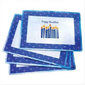 Wholesale Happy Hanukkah Placemat