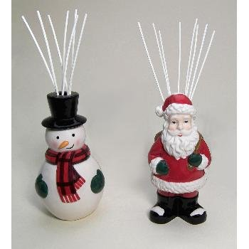 Wholesale Holiday Reed Diffuser - Snowman