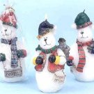 "Wholesale 5.5"" Frosty Snowman Candles"