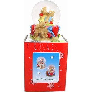 Wholesale Christmas Waterball. 6 Assorted. 6.5Cm