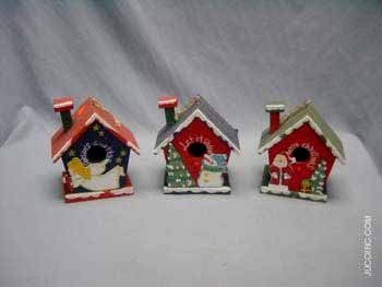 Wholesale Bird House Christmas
