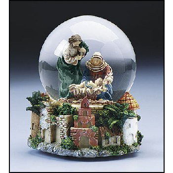 Wholesale Nativity Snow Globe