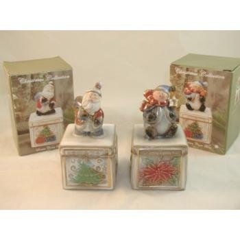 Wholesale Santa/Snowman Cover Box