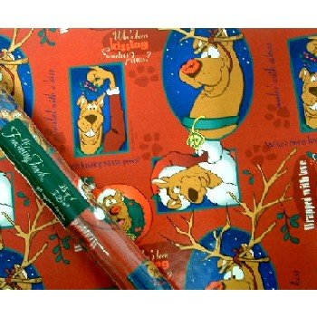 Wholesale Christmas Gift Wrap-Scooby Doo