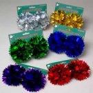 Wholesale Foil Pom-Pom Gift Bows