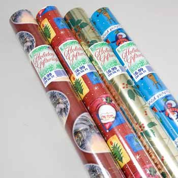 Wholesale Christmas Gift Wrap