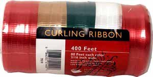 Wholesale 400 ft. Christmas Curling Ribbon