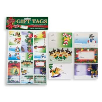 Wholesale 100 Holiday Gift Tags