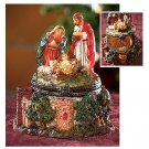 Wholesale 2 Piece Nativity Hinged Box