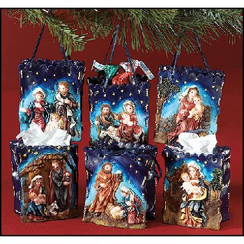 Wholesale Nativity Bags- 3 Assorted