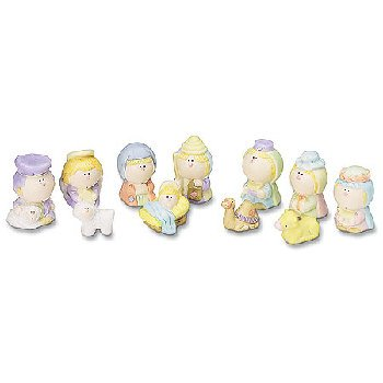 Wholesale Nativity Set:11 Pc Boxed