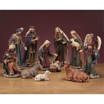 Wholesale 11 Piece Nativity Set