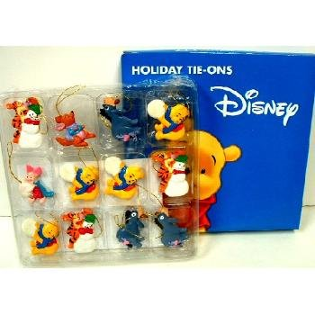 Wholesale Winnie Pooh Character 12 ct Tie-ons/Ornaments