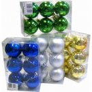 Wholesale 6 Pack Christmas Ball Ornaments