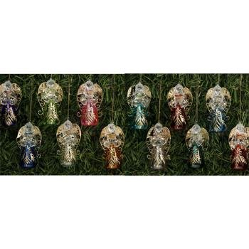 Wholesale 12 Month Glass Angel Ornaments
