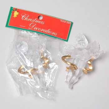 Wholesale Clear Angel Ornament...HOT SELLER