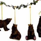 "Wholesale 4 1/2"" Bear Ornament, 4 Asst."