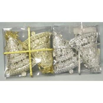 NEW! Wholesale Christmas Bell Ornaments 2 Pack
