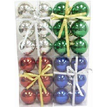 "Wholesale Christmas Balls, 6 per package. 6 cm (2.36"")"