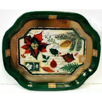 Wholesale Poinsettia Snack Trays
