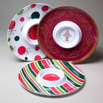 Wholesale Christmas Chip-n-Dip Platter