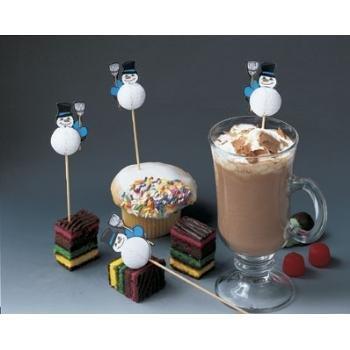 Wholesale Snowman Party Picks